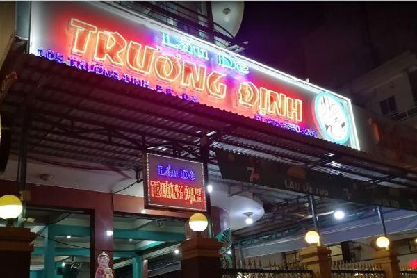 Quán ăn ngon Sài Gòn - Lẩu dê Trương Định