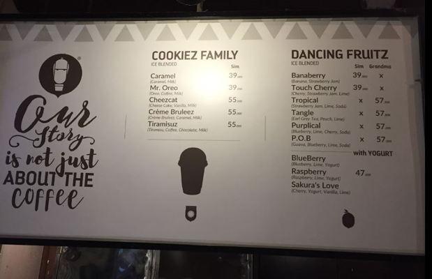 Quán cafe Caztus Ice Blended Quận 1