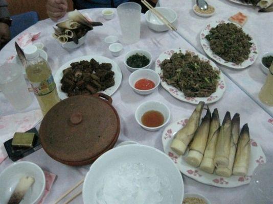 các món ăn từ Măng tươi ngon nhất